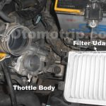 Throttle body toyota yaris dan new limo