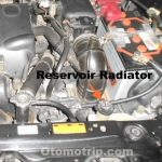 Reservoir radiator mesin 1NZ-FE