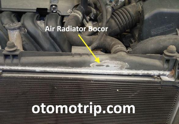 air radiator bocor pentebab overheat dan ac tidak dingin