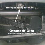 Gambar Cara Melepas Tutup Filter Ac Avanza