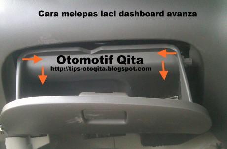 Laci pada dashboard ac mobil Avanza