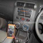 Pengukuran suhu ac mobil
