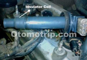 Insulator koil pengapian