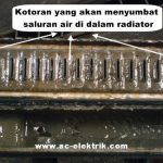 Gambar radiator tersumbat