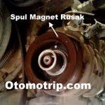 spuul magnet kompressor ac mobil rusak