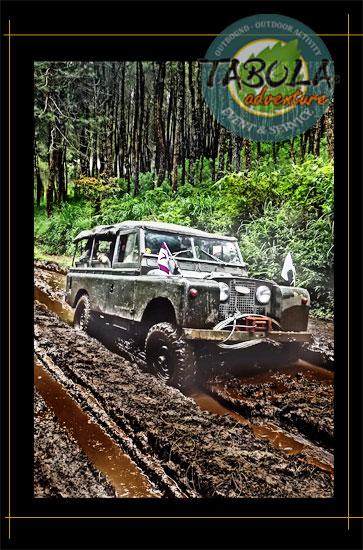 Off Road dengan Land Rover