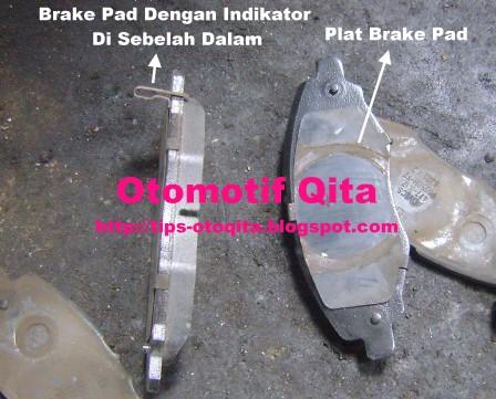 Gambar brake pads atau kampas rem