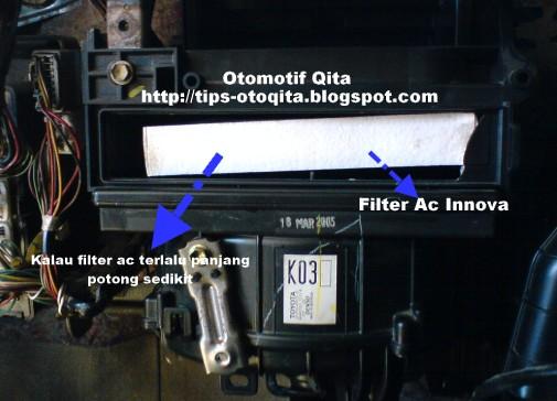 Cara pasang filter ac innova 2005