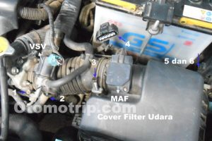 Membersihkan Throttle Body Yaris Dan New Limo
