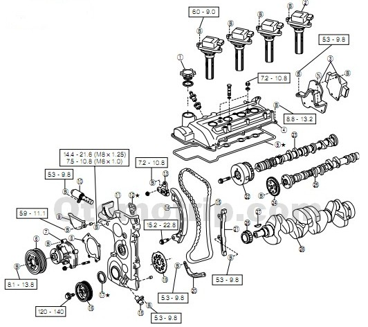 parts of a car engine diagram harley