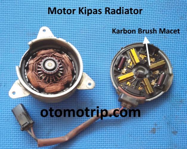 motor kipas radiator honda brio