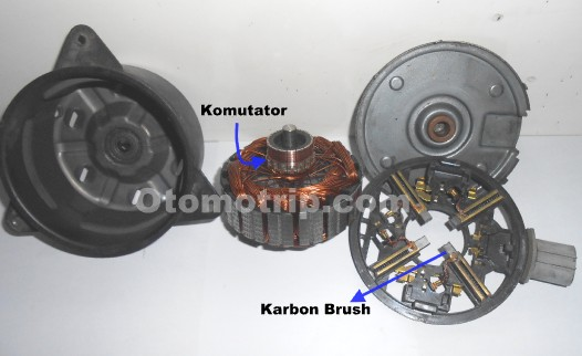 Motor Kipas radiator mesin mobil