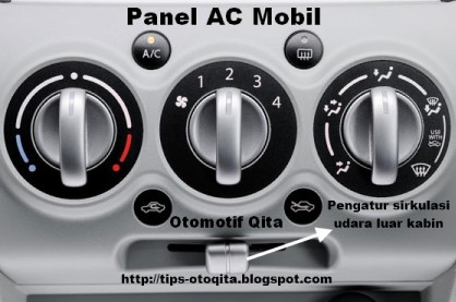 Pengatur sirkulasi udara pada panel ac