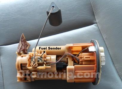 Pompa bensin injeksi dan fuel sender