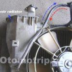 Gambar reservoir pada radiator mobil