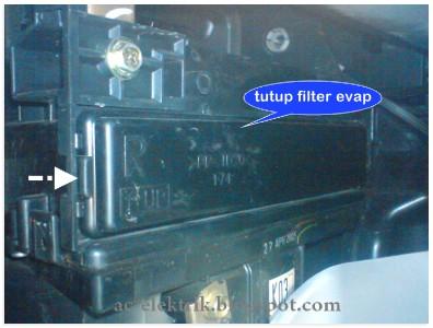 Gambar tutup filter kabin innova