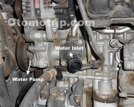 Fungsi Water Pump Pada Mesin Mobil Dan Masalahnya