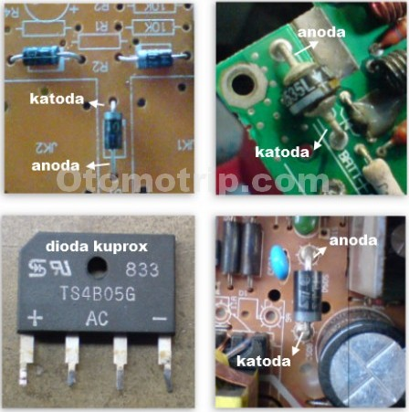 Berbagai macam bentuk dioda