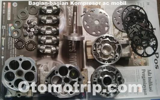 Gambar bongkaran Kompressor ac mobil