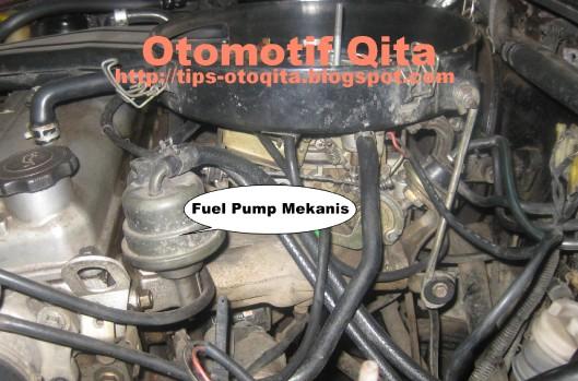 Pompa bensin mekanis pada timor sohc