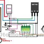 Skema rangkaian sistem pengapian transistor dengan Fet