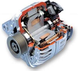 Komponen Alternator Mobil dan Fungsinya