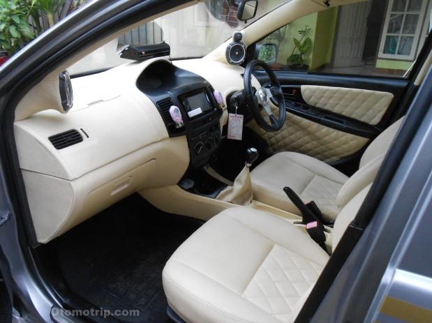 Gambar foto modif interior dashboard limo