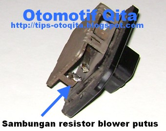 Resistor blower toyota limo