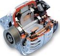 Alternator generator pembangkit listrik untuk mobil