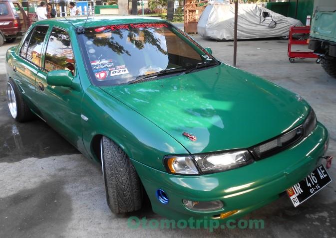 Gambar Modifikasi Mobil Timor Warna Hijau - OtomoTrip