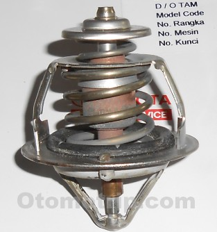 Fungsi dan Cara Kerja Thermostat Pada Sirkulasi Air Radiator Mobil