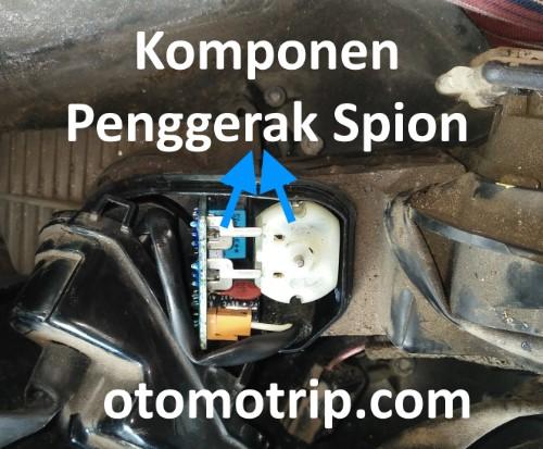 Komponen penggerak spion Honda CRV