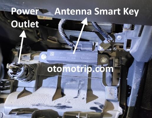 Smart key Front Interior Antenna Honda Jazz rs 2016