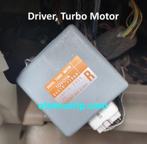 Driver turbo toyota hilux fortuner diesel 2kd ftv