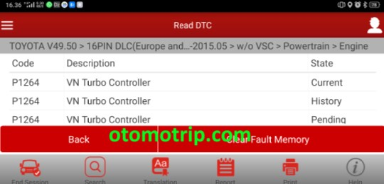 dtc p1264 vn turbo controller launch golo